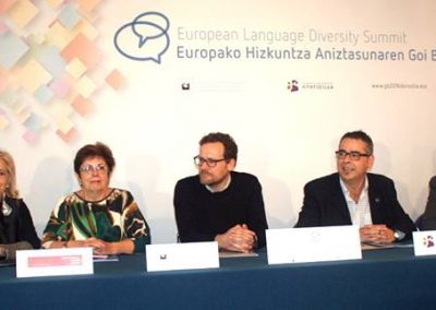 The launch of the Protocol for Language Rights