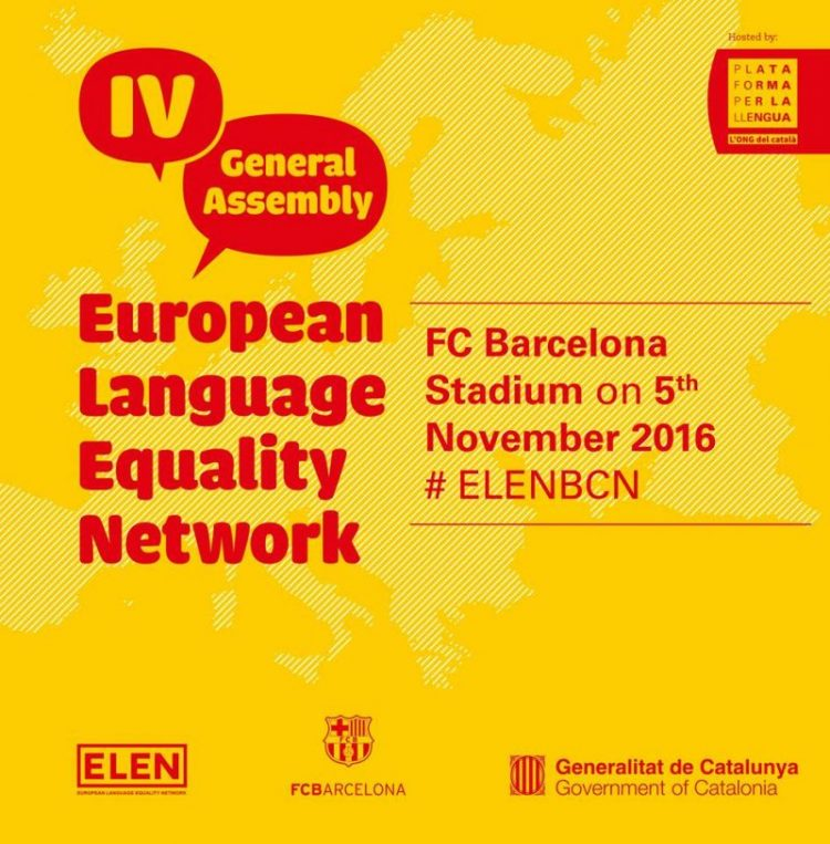 ELEN GENERAL ASSEMBLY IV TO BE HELD AT FC BARCELONA