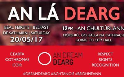 Lá Dearg 2017 – Acht na Gaeilge Anois