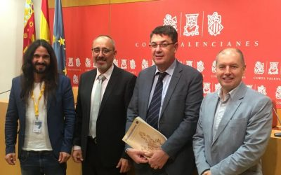 ELEN meet with Valencian President Enric Morera for new CALRE Intergroup