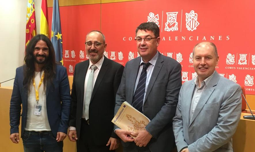 ELEN meet with Valencian President Enric Morera for new CALRE Intergroup