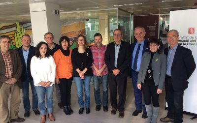 ELEN Steering Committee meet in Brussels, hosted by Catalan Government