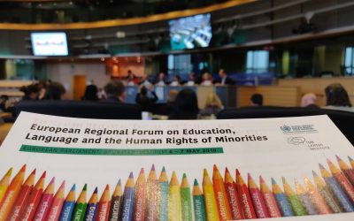 ELEN at the European Forum for Minorities: Education, Language and Human Rights