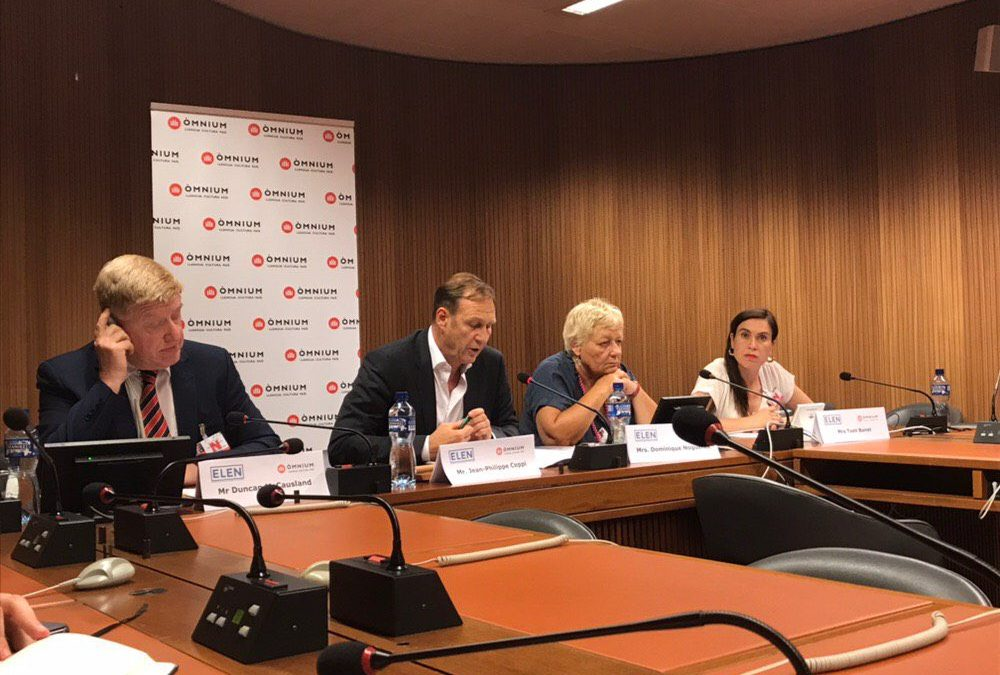 Òmnium Cultural and European Language Equality Network denounce violation of Catalan civil rights at UN Human Rights Council