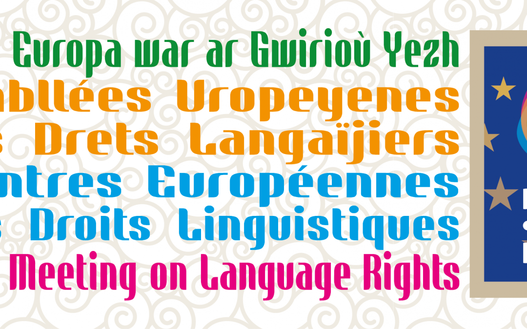 European Forum for Language Rights to be held in Brittany – with UN Special Rapporteur for Minorities