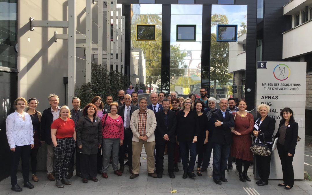 European Language Equality Network General Assembly 2019 held in Brittany with UN Special Rapporteur for Minorities