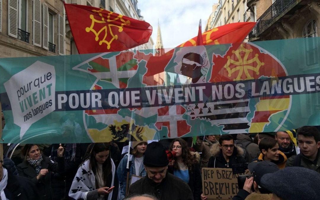 Paris demonstration underlines need for 'regional' language legislation